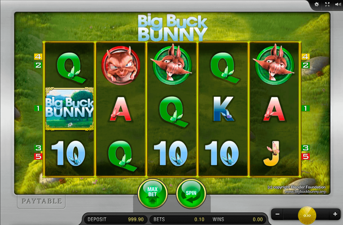 Spiele Big Buck Bunny - Video Slots Online