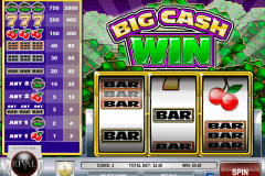 BIG CASH WIN RIVAL CASINO SLOTS