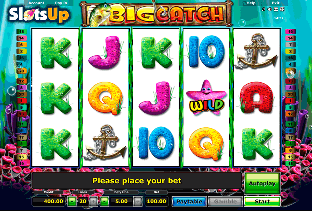 Play Reel Catch Slot Game Online | OVO Casino