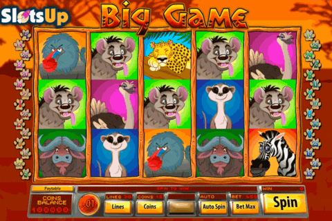 big game saucify casino slots