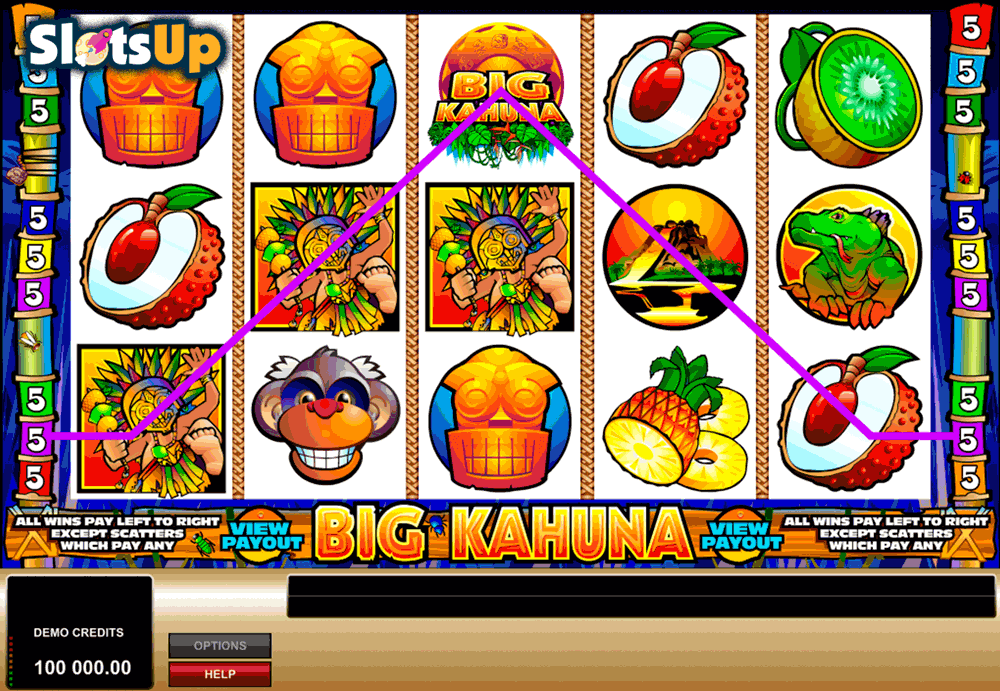 Big Kahuna Slot Machine Review & Free Instant Play Game