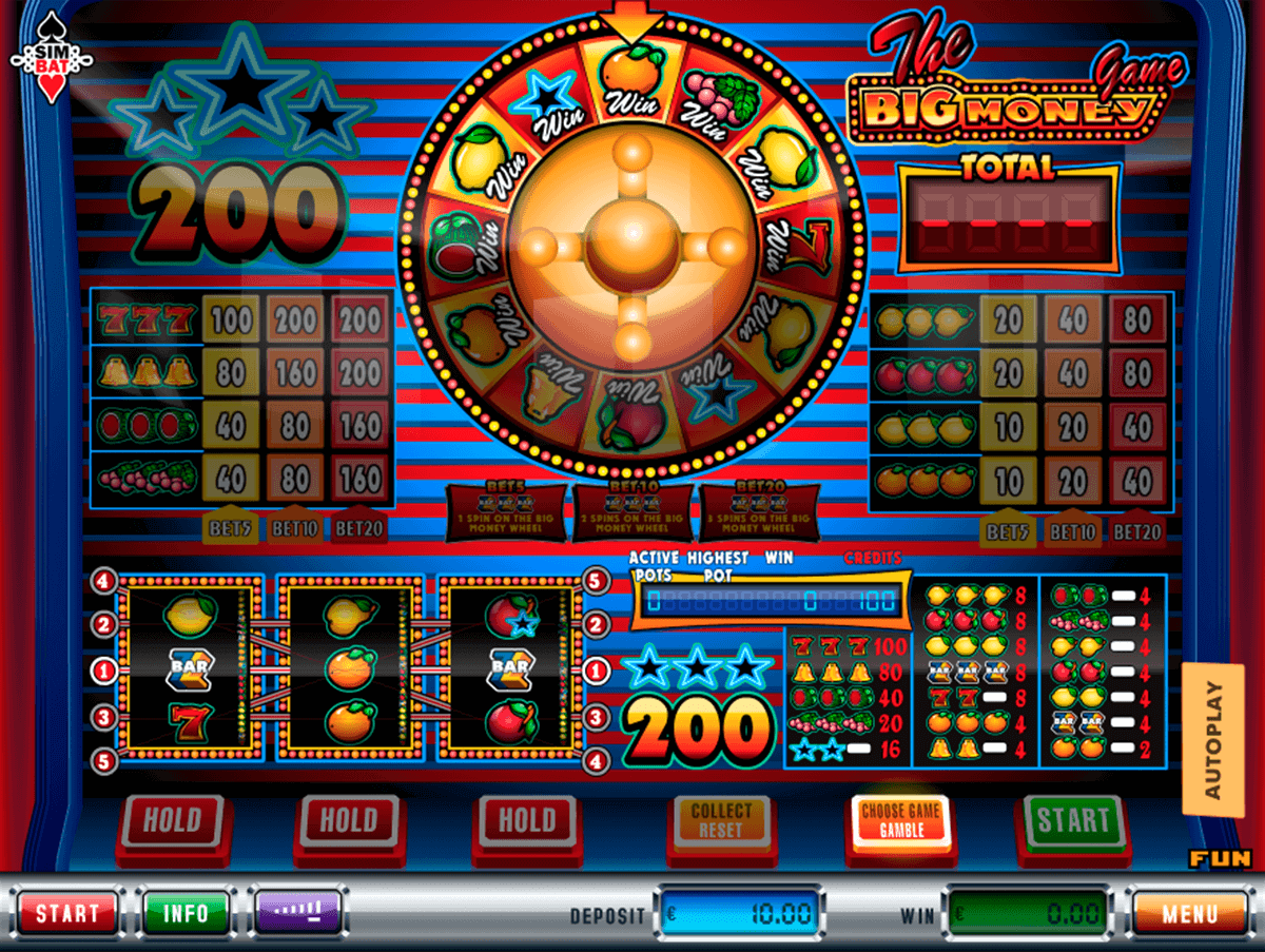 Big Money Game Slot Machine - Play Free Casino Slots Online