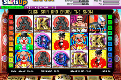 BIG TOP EXTRAVAGANZA OPENBET CASINO SLOTS