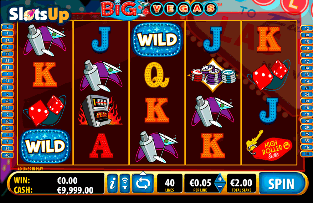 BIG VEGAS BALLY CASINO SLOTS