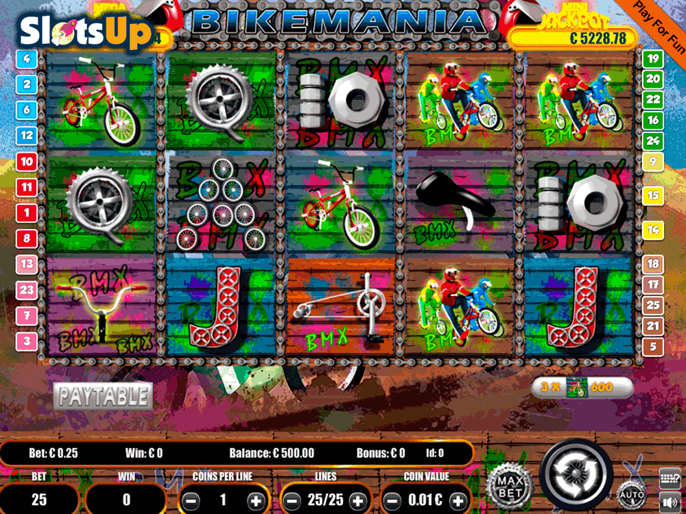 Bike Mania Slot Machine Online ᐈ Portomaso Gaming™ Casino Slots