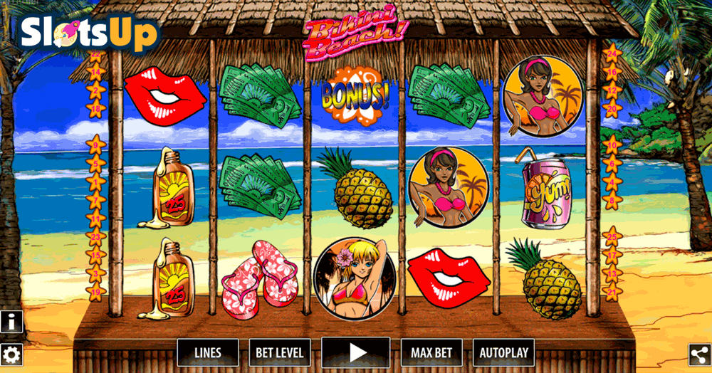Bikini Beach Slot Machine - Play the Free Casino Game Online