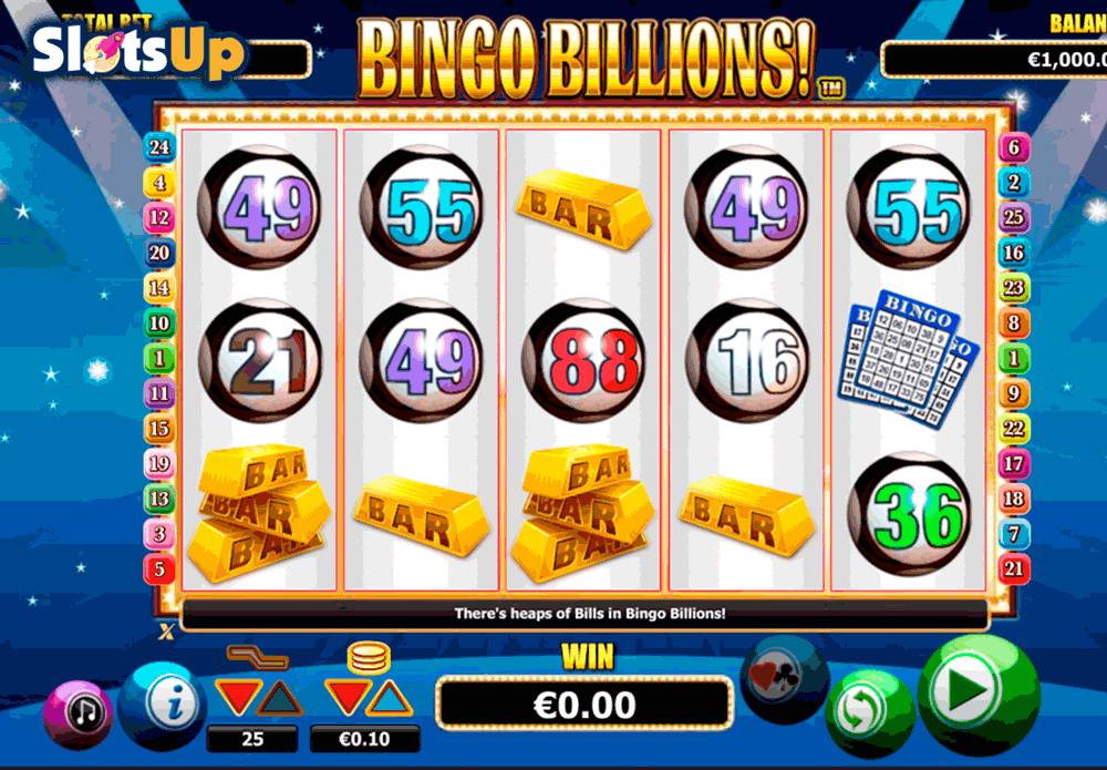 Bingo Billions Slot Machine Review & Free Online Casino Game