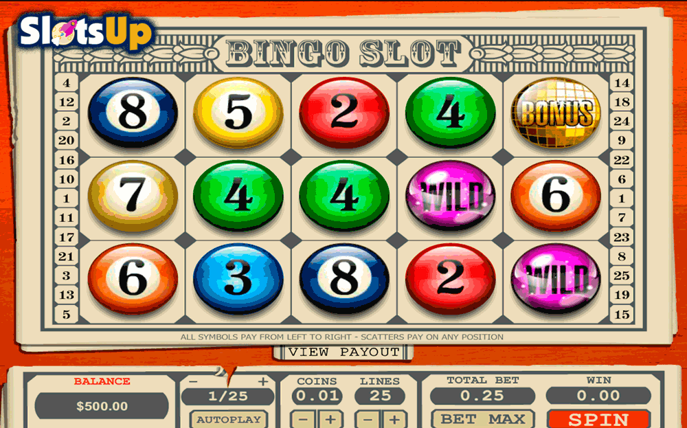 online slots and bingo