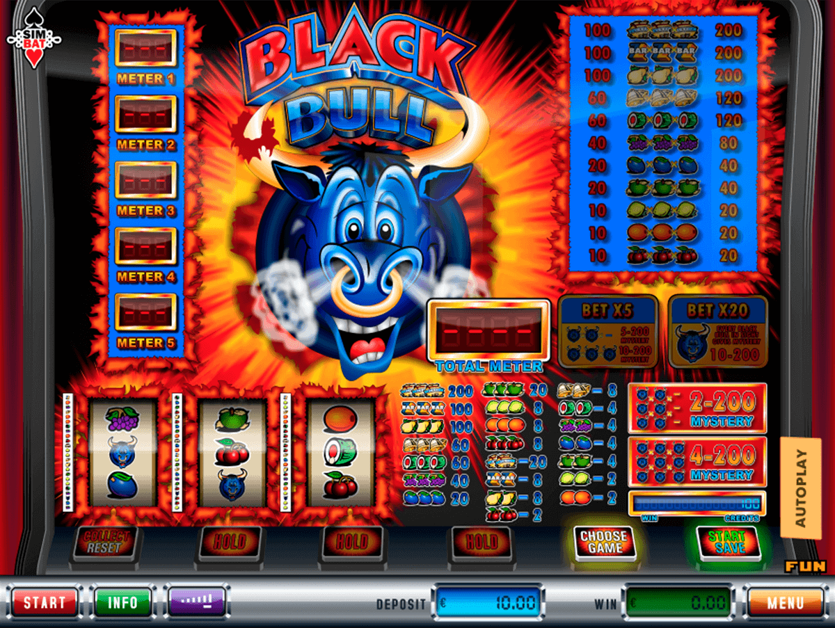 Black Bull Slot Machine Online ᐈ Simbat™ Casino Slots