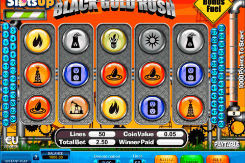 BLACK GOLD RUSH SKILLONNET CASINO SLOTS