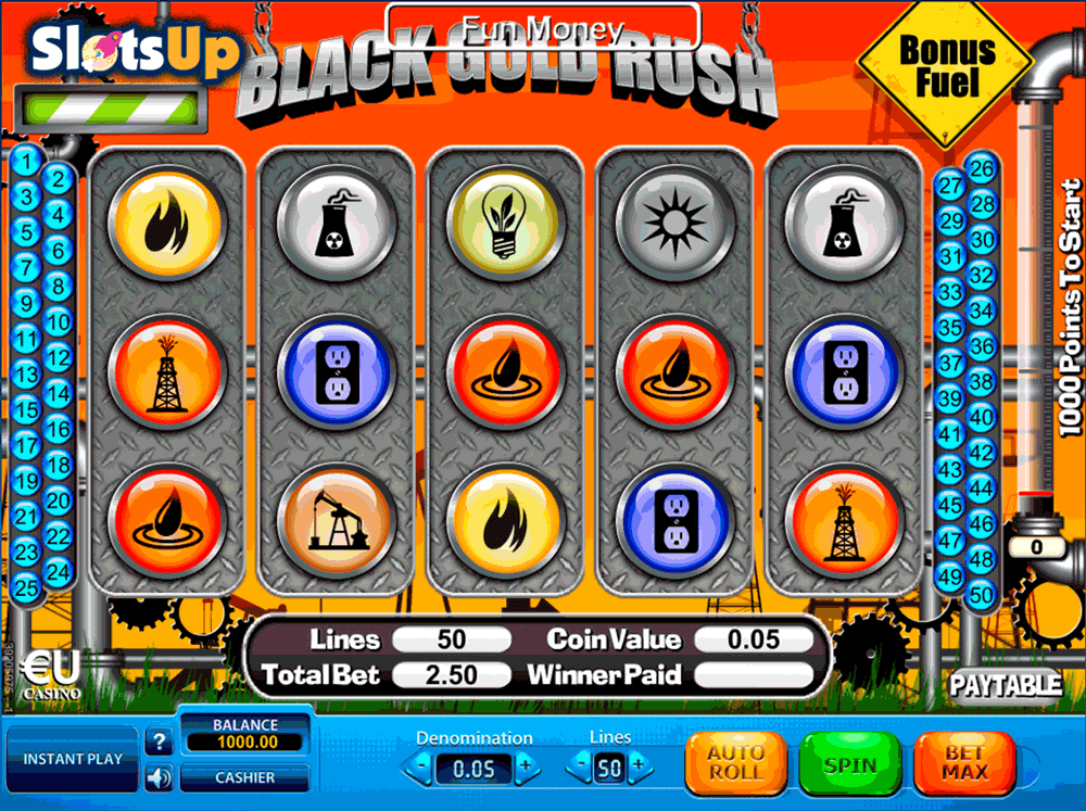 Black Gold Rush™ Slot Machine Game to Play Free in Skill On Nets Online Casinos