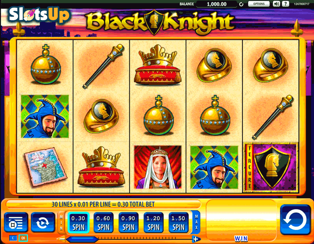 black knight wms casino slots