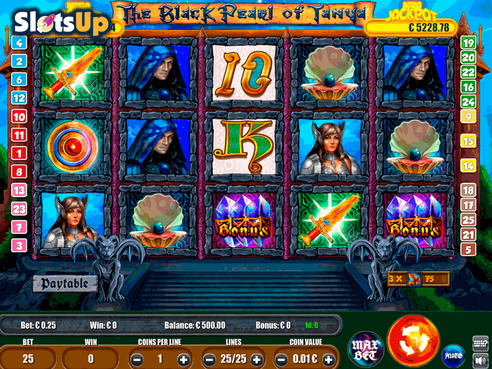Black Pearl of Tanya™ Slot Machine Game to Play Free in Portomaso Gamings Online Casinos