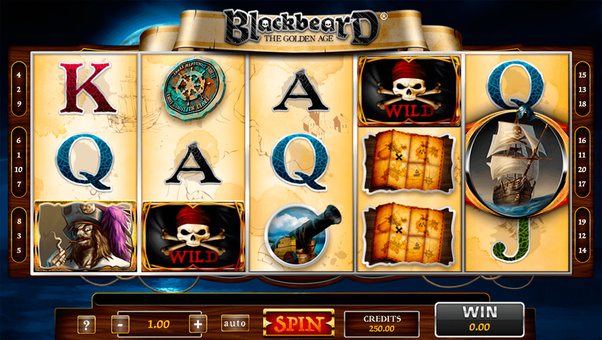 blackbeard gaming1 casino slots