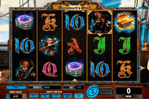 BLACKBEARDS GOLD AMAYA CASINO SLOTS