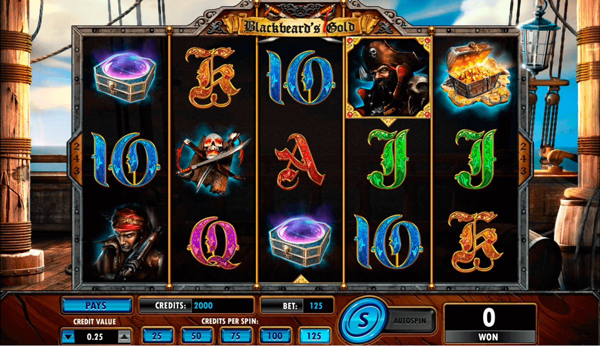 Neptune's Gold Slot Machine - Play Amaya Slots for Free