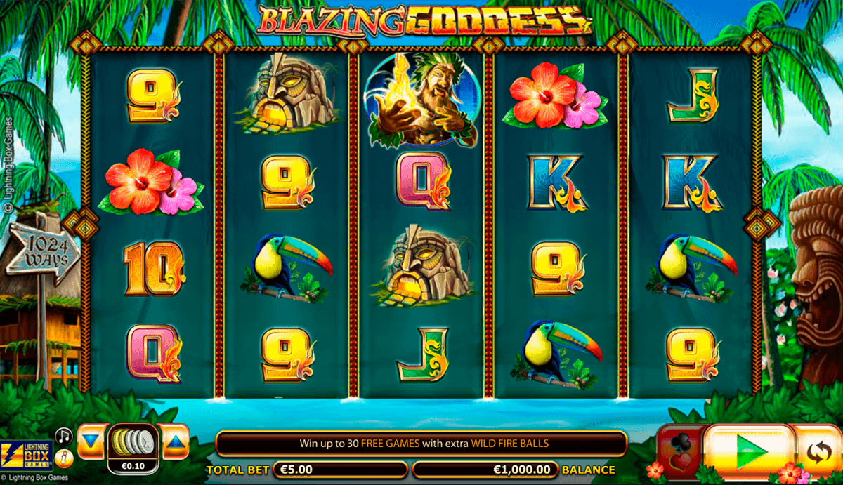 God of Lightning Slot - Play Online Video Slots for Free