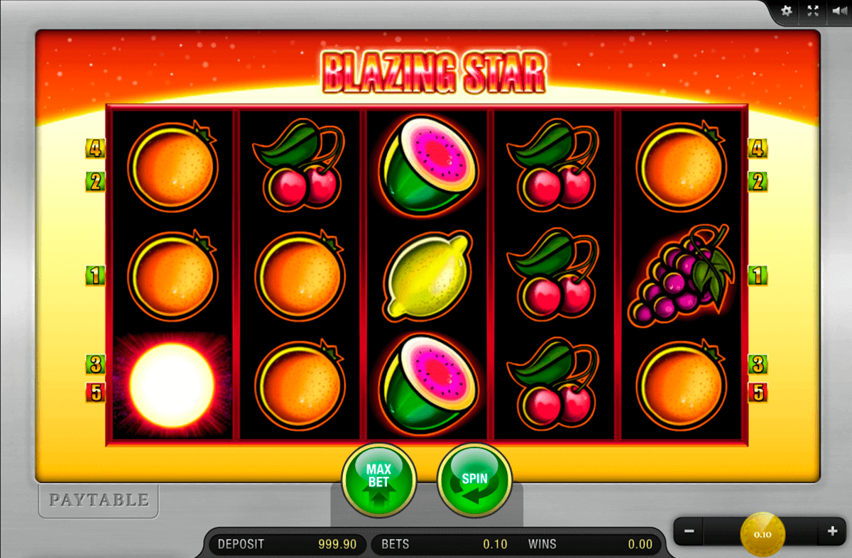 Blazing Star™ Slot Machine Game to Play Free in Merkurs Online Casinos