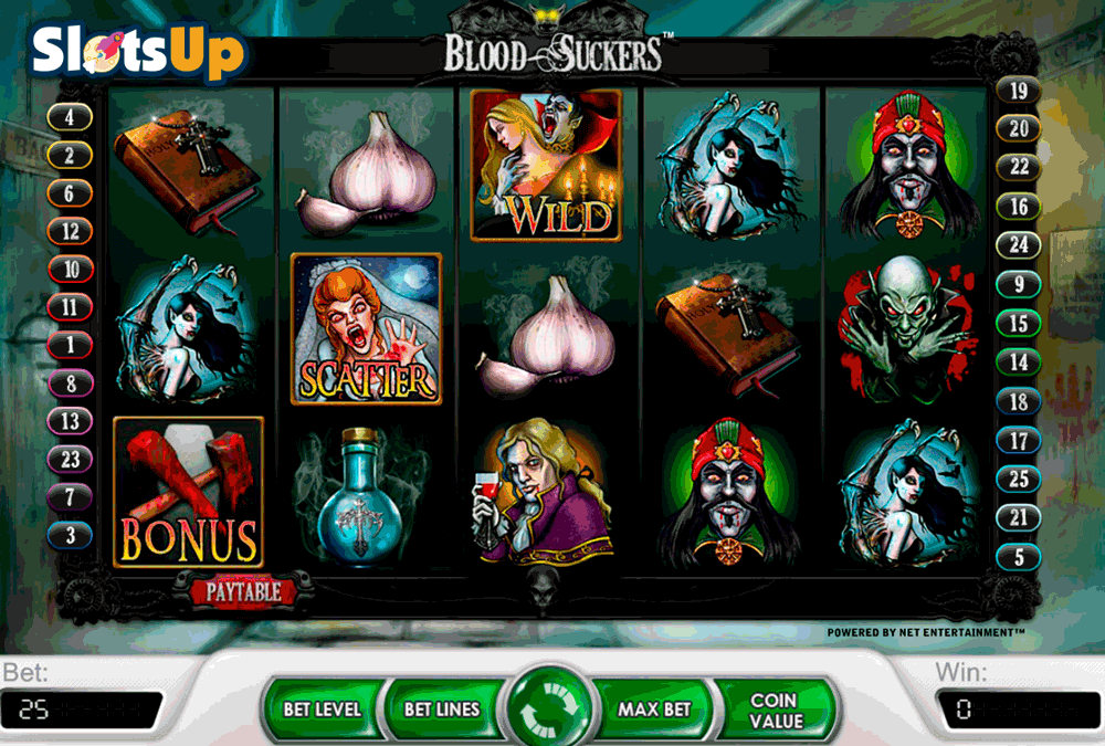 blood suckers netent casino slots