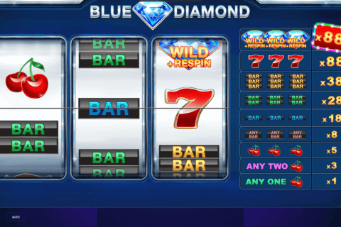 blue diamond red tiger casino slots