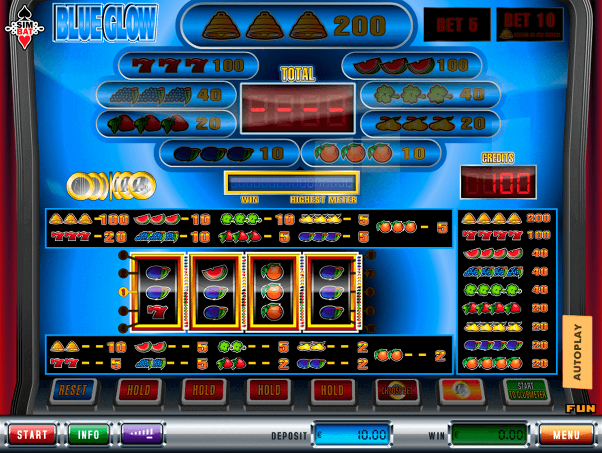 Blue Glow Slot Machine Online ᐈ Simbat™ Casino Slots