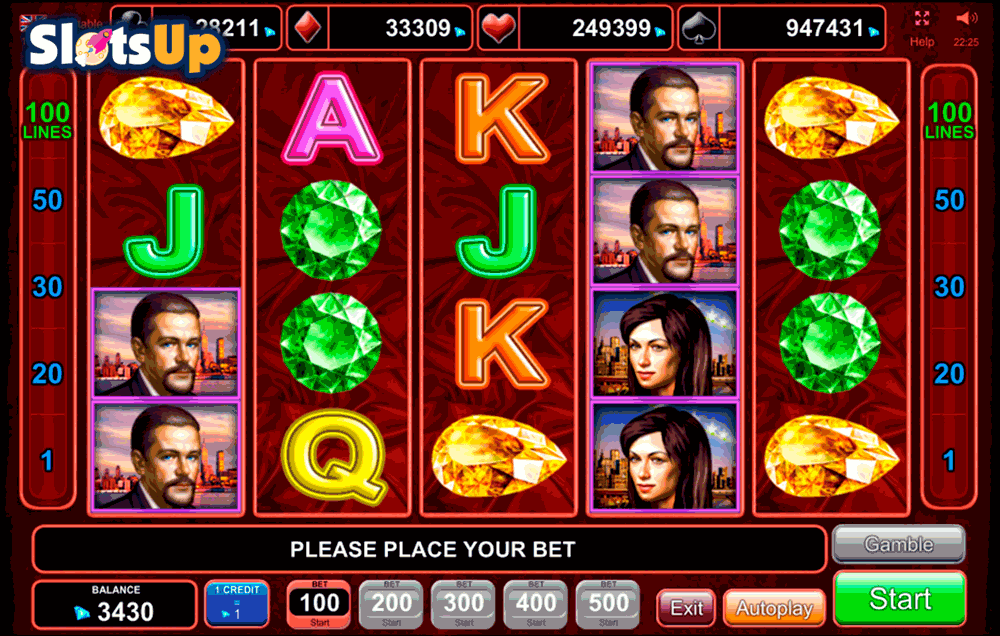 BLUE HEART EGT CASINO SLOTS