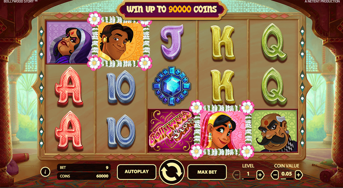 bollywood story netent casino slots