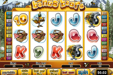 bonus bears playtech casino slots