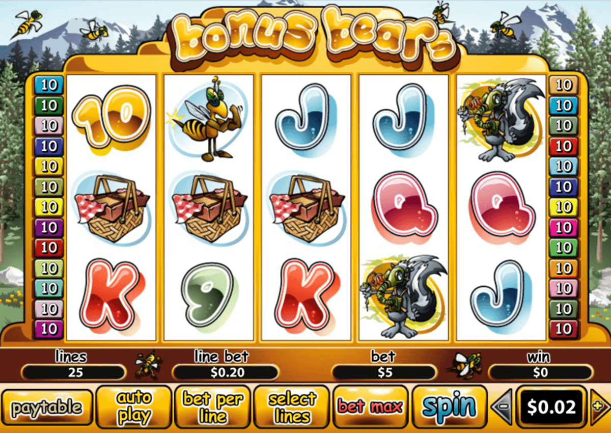 Play Bonus Bears Online Slots at Casino.com UK