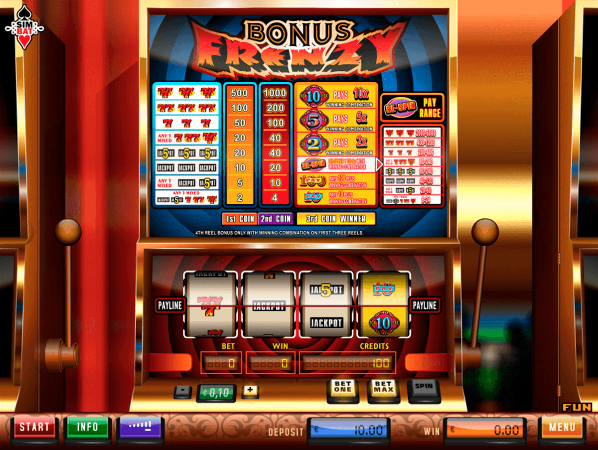 free play casino bonus