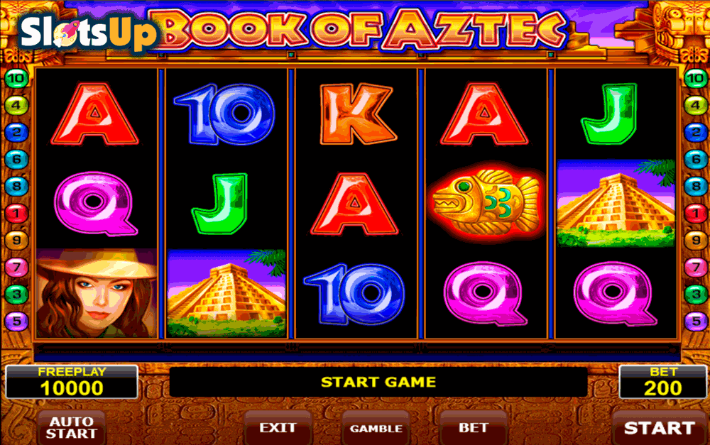 BOOK OF AZTEC AMATIC CASINO SLOTS