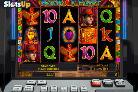 book of egypt deluxe novomatic casino slots