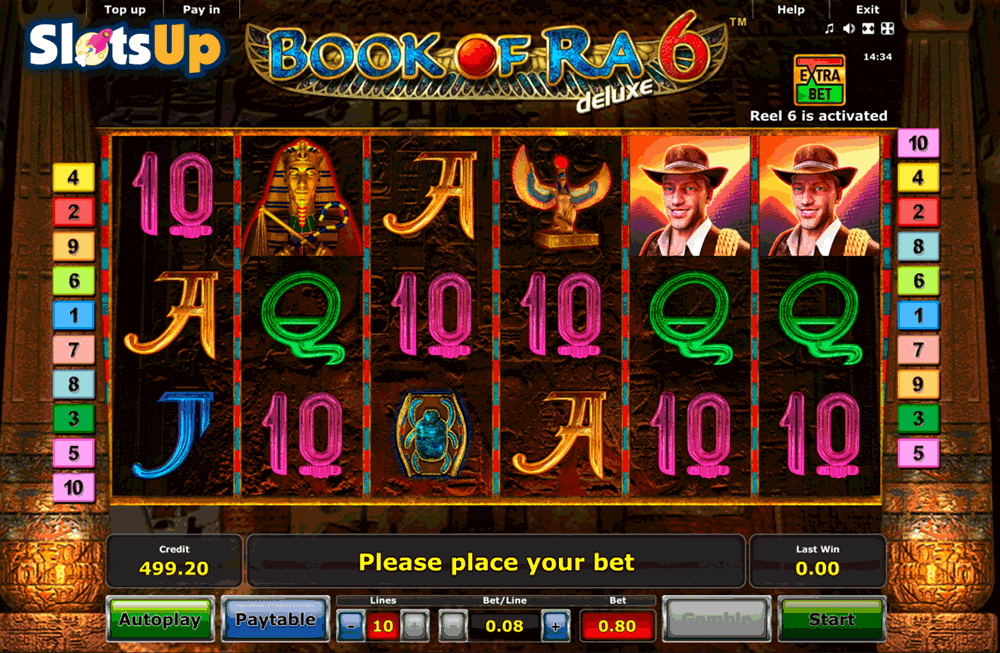 free online casino slot game book of ra