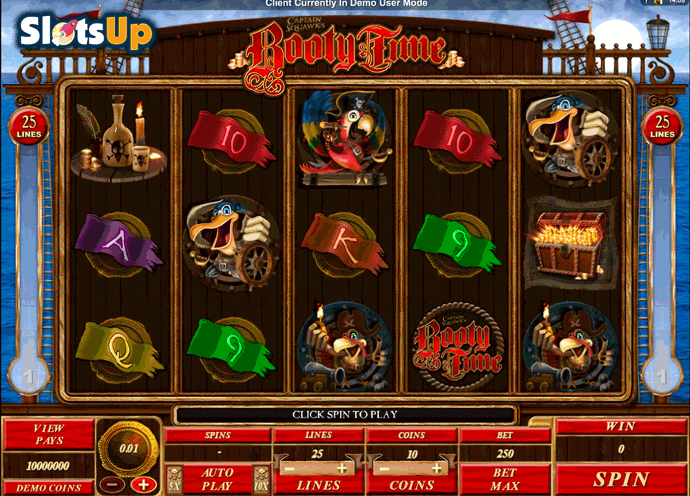 Booty Time™ Slot Machine Game to Play Free in Microgamings Online Casinos