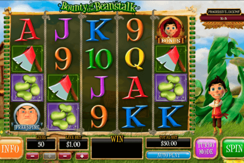 BOUNTY OF THE BEANSTALK PLAYTECH CASINO SLOTS