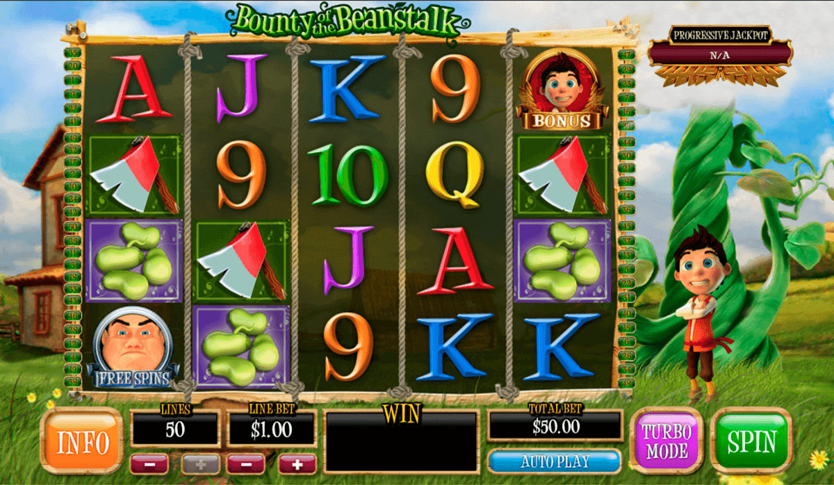Play Bounty of the Beanstalk Slot at Casino.com Canada