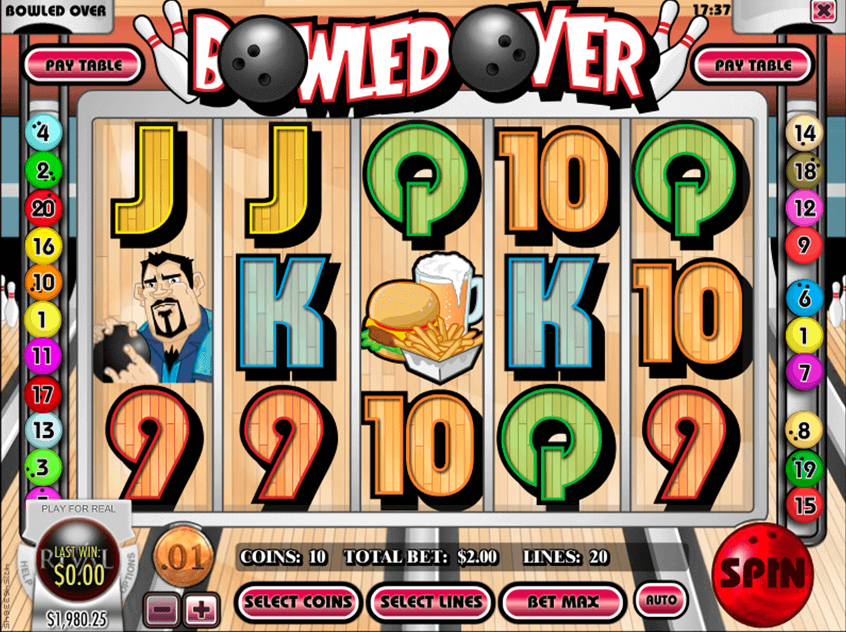 Bowled Over™ Slot Machine Game to Play Free in Microgamings Online Casinos