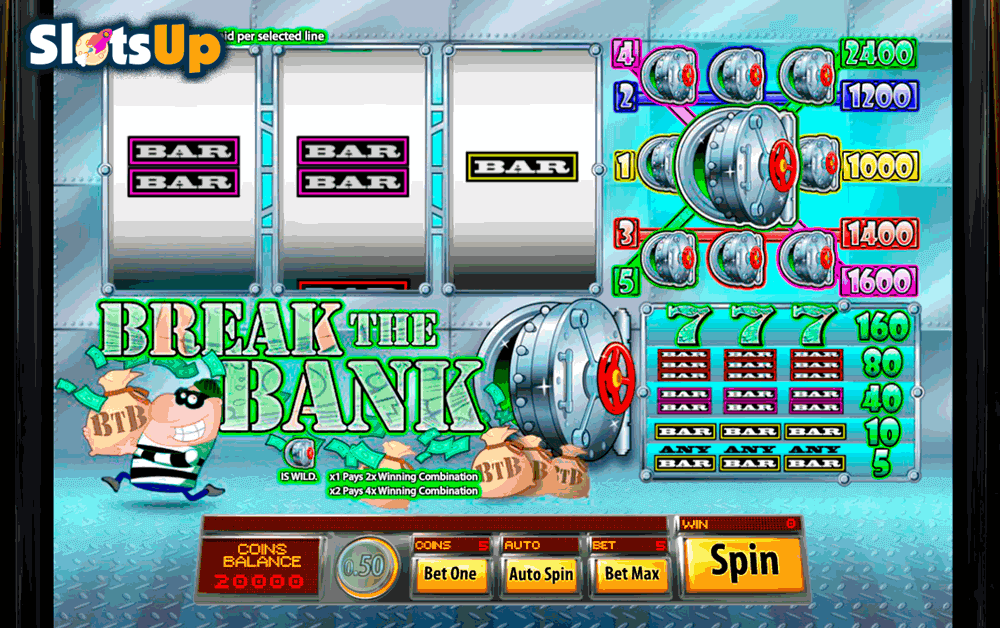 Break the Bank Slot Machine Online ᐈ Saucify™ Casino Slots