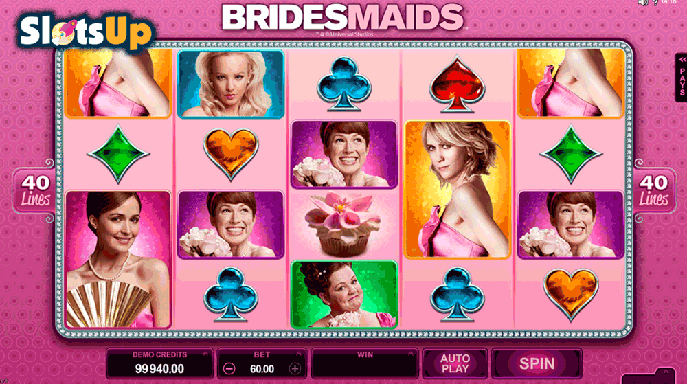 Bridesmaids™ Slot Machine Game to Play Free in Microgamings Online Casinos
