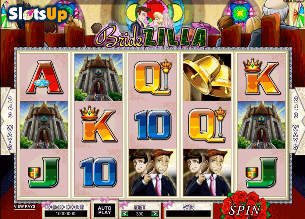 BrideZilla™ Slot Machine Game to Play Free in Microgamings Online Casinos