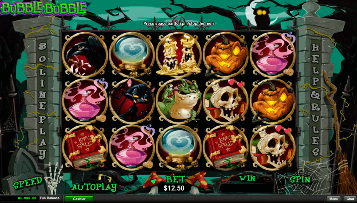 bubble bubble rtg casino slots
