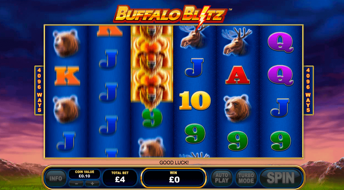 Buffalo Blitz Slot Machine Online ᐈ Playtech™ Casino Slots