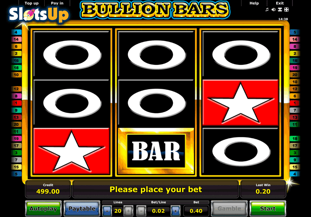 BULLION BARS NOVOMATIC CASINO SLOTS