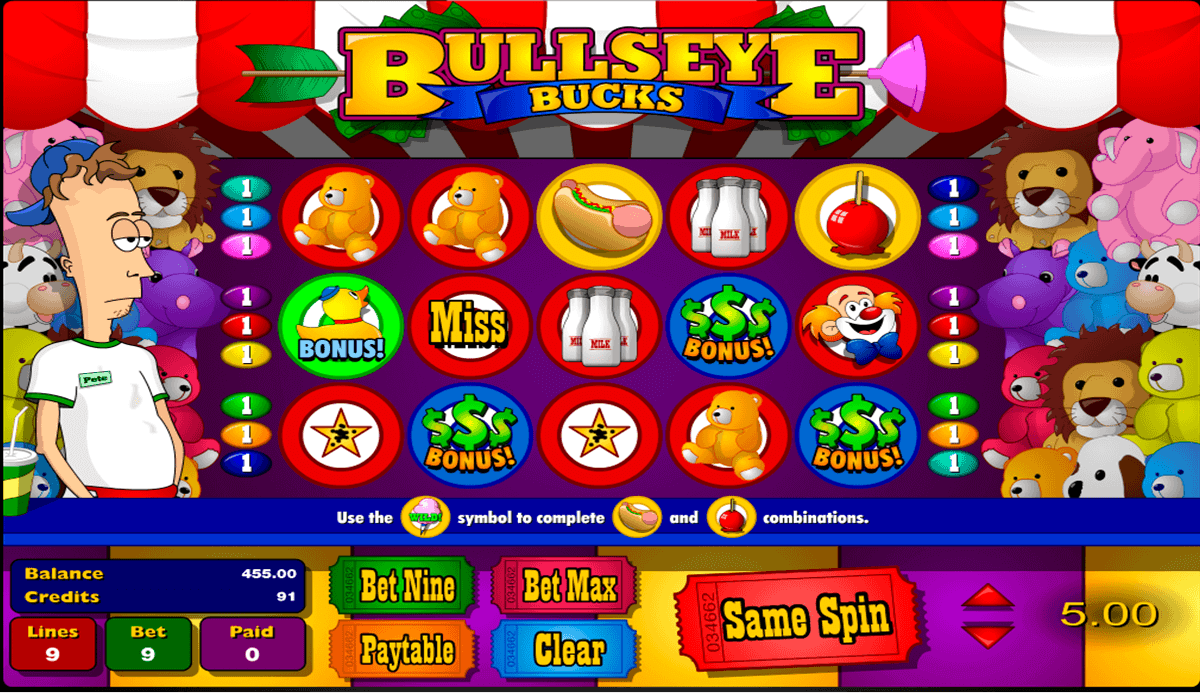 Bulls Eye™ Slot Machine Game to Play Free in Microgamings Online Casinos