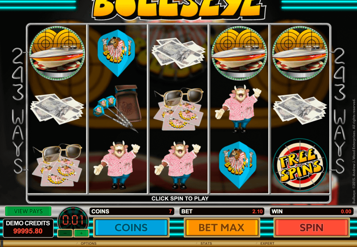 Bullseye Slot Game - Microgaming Slots - Rizk Online Casino