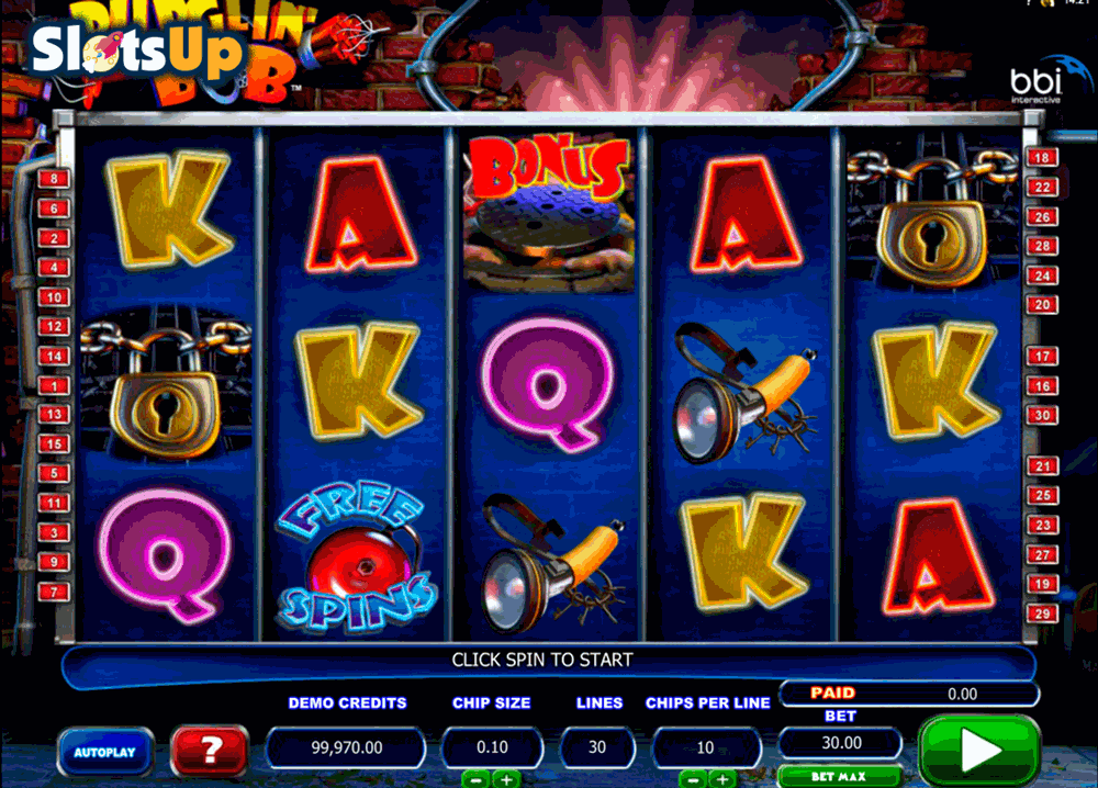 burglin bob microgaming casino slots