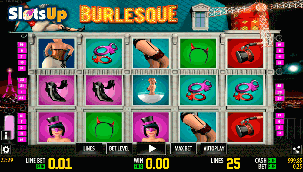 Burlesque HD Slot Machine Online ᐈ World Match™ Casino Slots