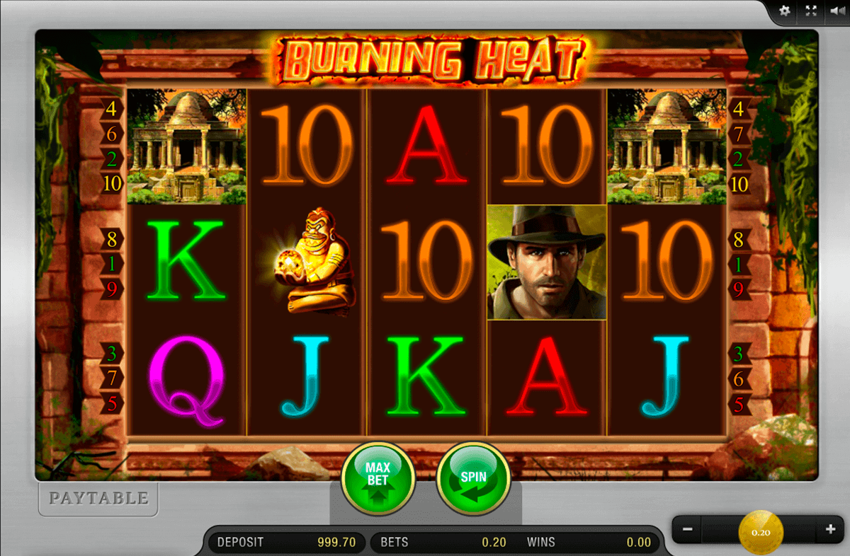 Burning Heat Slot Machine Online ᐈ Merkur™ Casino Slots