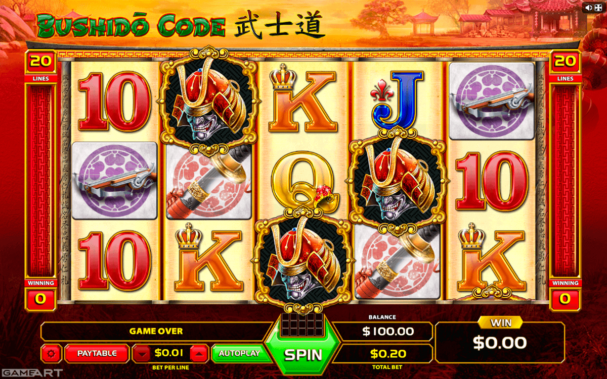 Bushido Code Slot Machine Online ᐈ GameArt™ Casino Slots