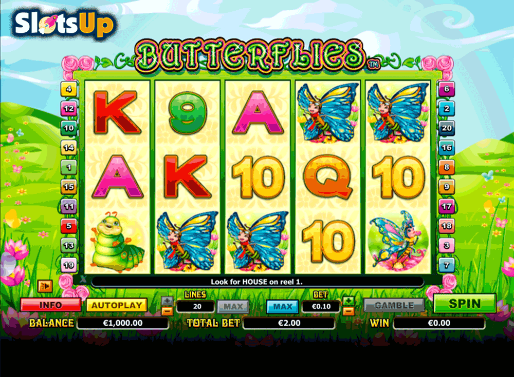 BUTTERFLIES NEXTGEN GAMING CASINO SLOTS